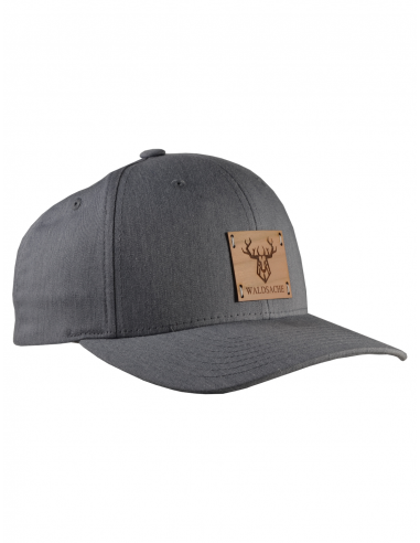CURVED SNAPBACK GRAUMELIERT